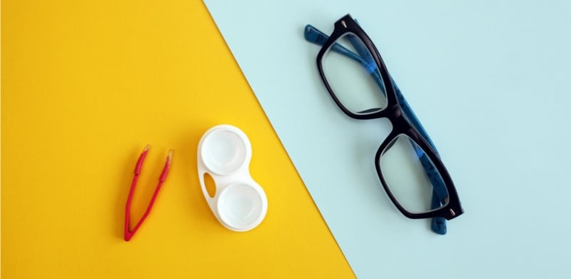 Are contact lens prescriptions the same as glasses?